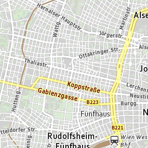 Karte Mit Hausnummern.Stadtplan